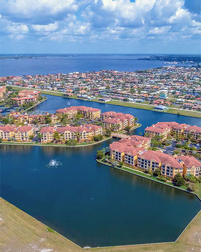 Aerial Image of Vivante in Punta Gorda, FL